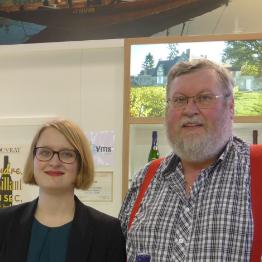 Pauline et Luc Dumange, père et fille à la vigne