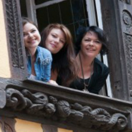Zimmer, mère et filles