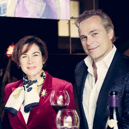 Nathalie et Jean-Charles Boisset