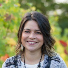 Azéline Delarue, de la chimie au vin