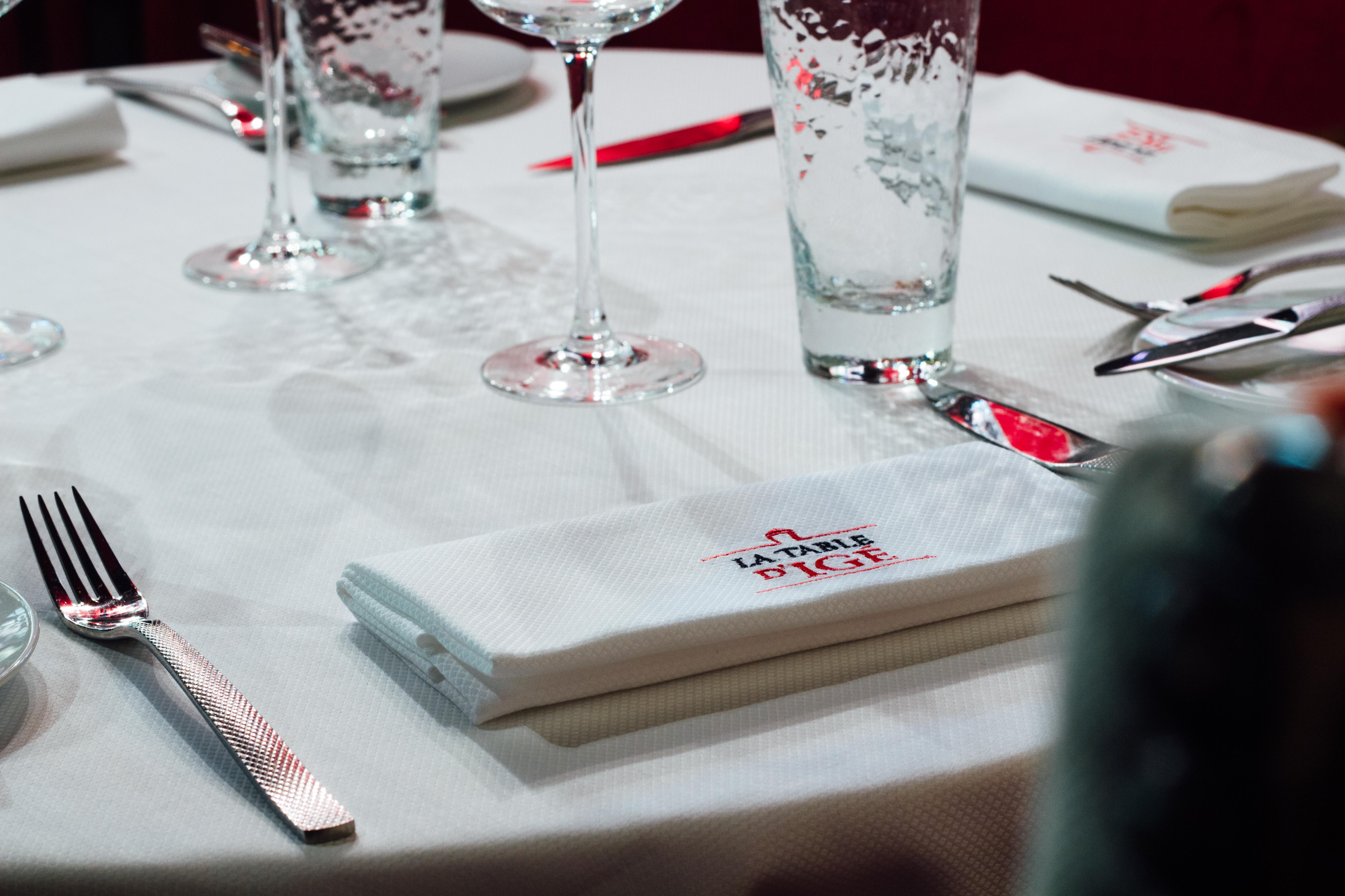 Château d'Igé : menu gastronomique à la Table d'Igé