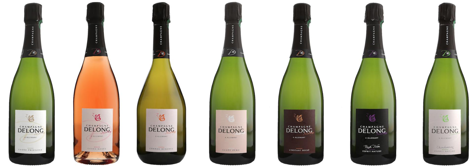 Champagne Delong Marlène