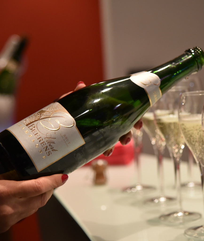 Champagne Albert Beerens : déjeuner au champagne – menu découverte