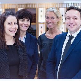 L'équipe de la Maison des vins Côtes de Provence