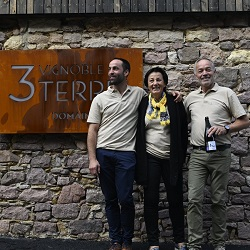 Jean-Louis, Fabienne et Sébastien Mann